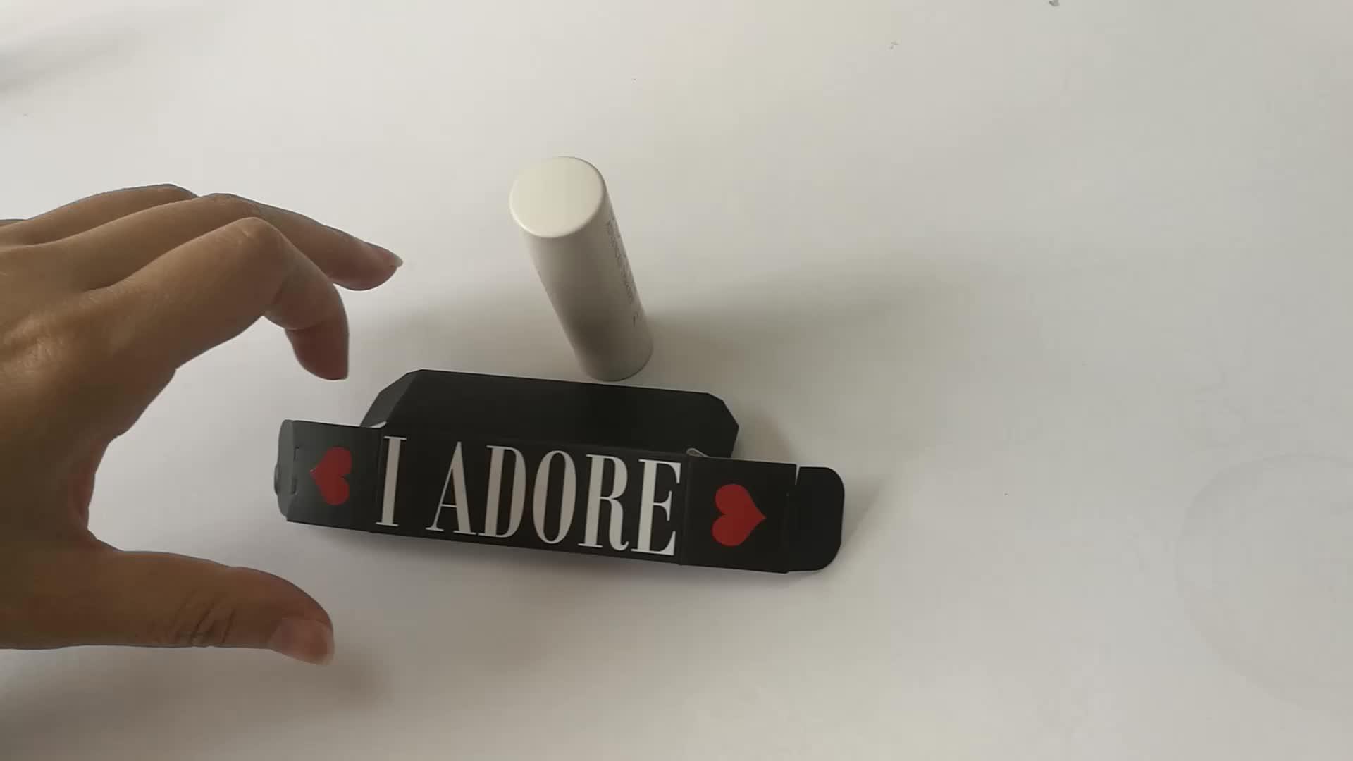 high quality makeup paper box packaging lipstick box