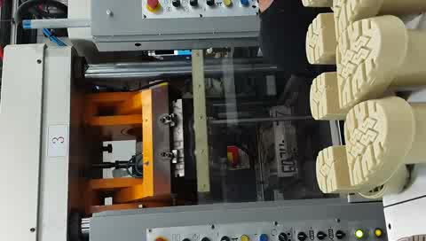 Shoe Sole Making Machine for PVC TR TPU TPR Outsoles