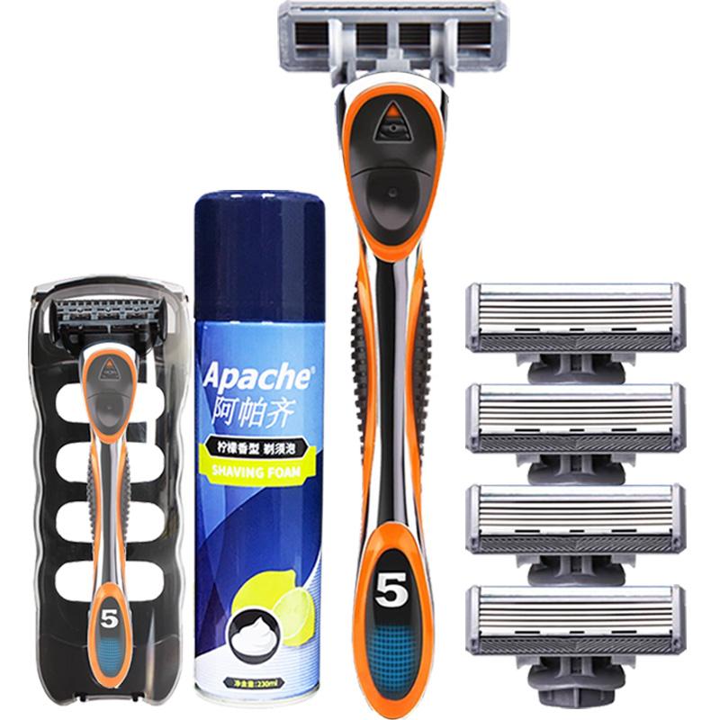 六层剃须刀片手动5层升级刮胡刀评价如何