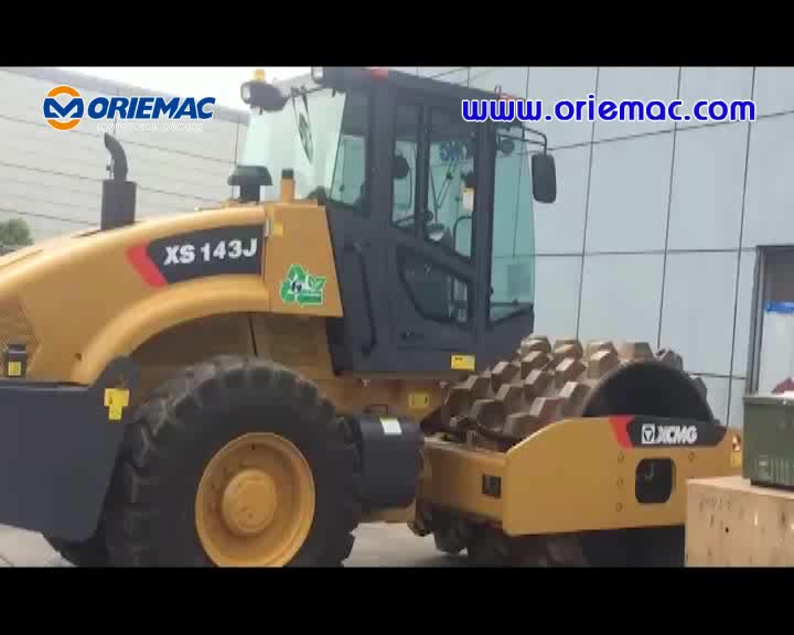 Construction Machinery XS143J 14tons Road Roller Soil Compactor Machine