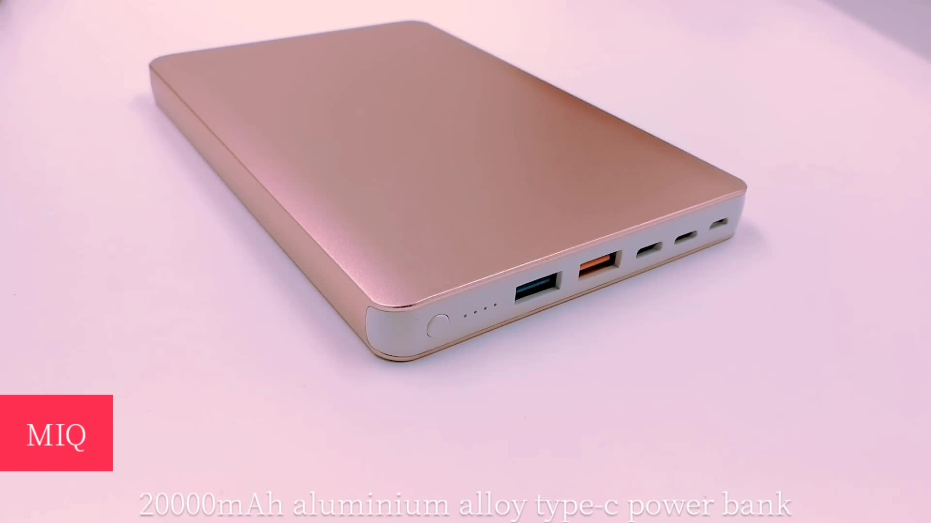 Three output ports power bank ,long lasting high capacity power bank 20000mAh