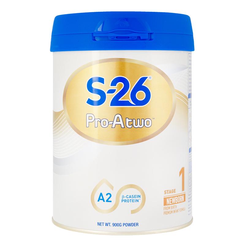 【旗舰店】新西兰惠氏S26奶粉1段A2酪蛋白婴儿配方进口一段有2段3