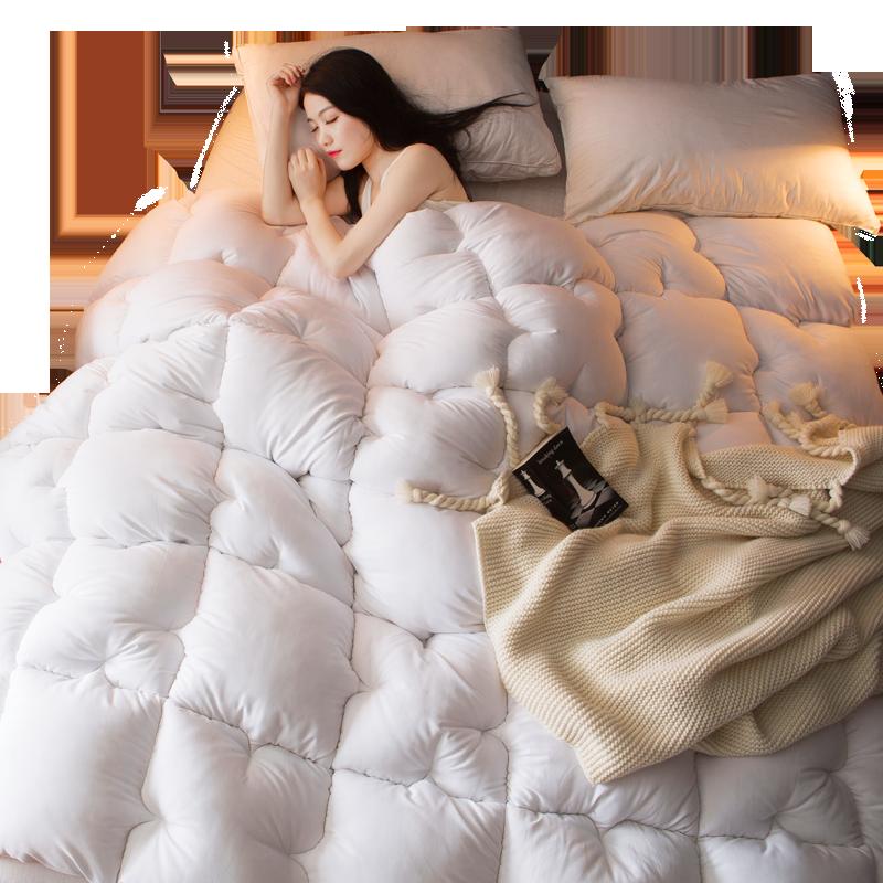 南极人被子冬被芯冬天加厚保暖宿舍单人学生双人空调春秋冬季棉被