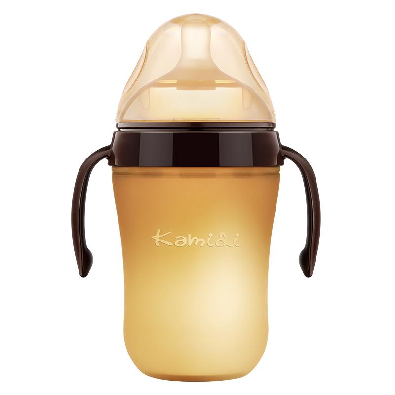 断奶神器◆新生婴儿奶瓶ppsu耐摔硅胶仿母乳6玻璃吸管1岁以上2岁