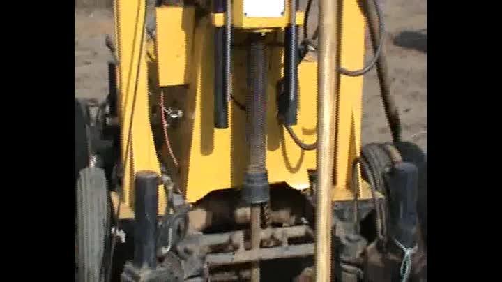 Bohrgerät hersteller! Mt-3 300-600m Hardrock Bohrloch maschine zum bohren tiefbrunnen