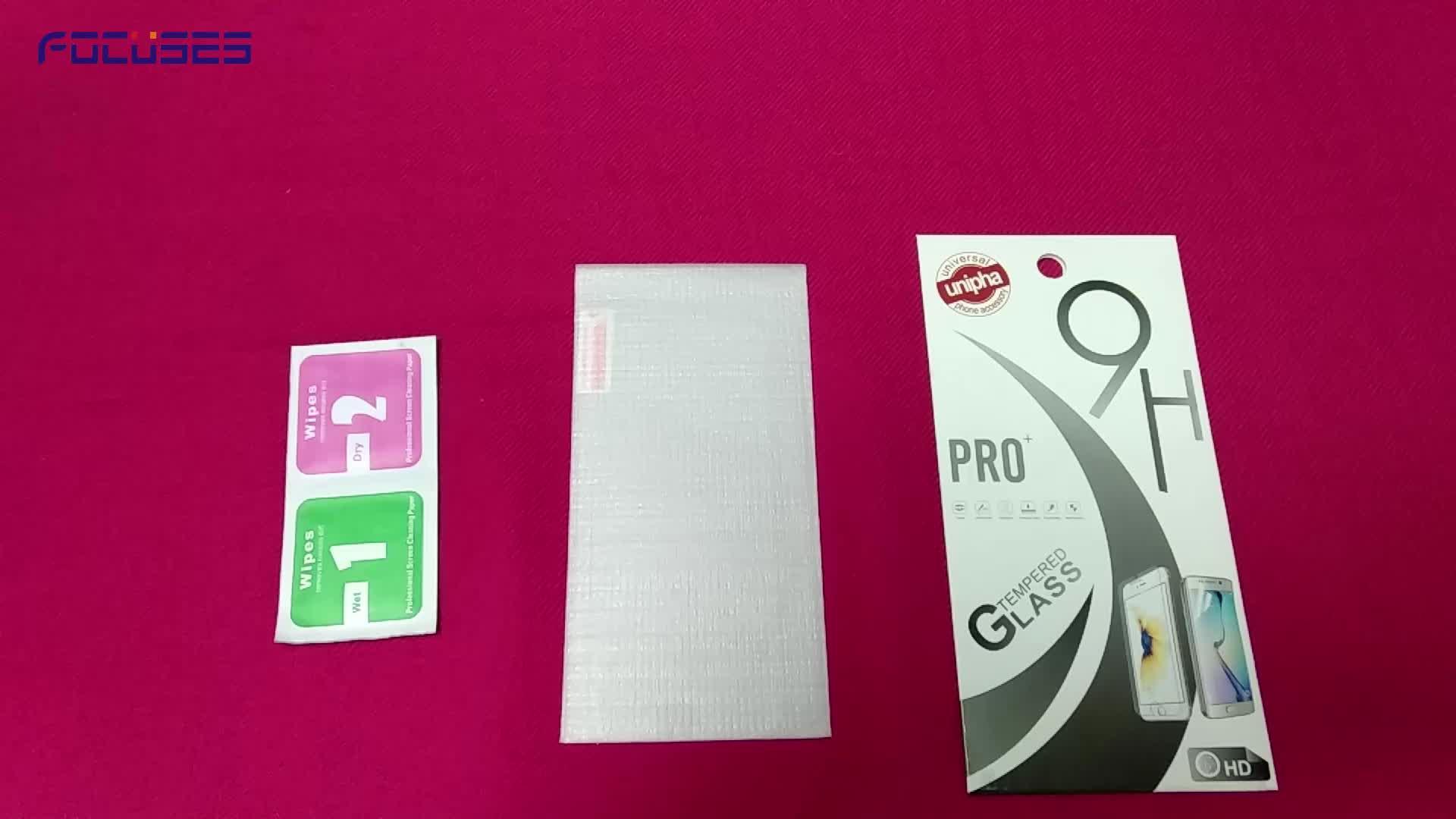 2.5D kristallklarer beweglicher Handy-Schirm-Schutz-ausgeglichenes Glas-Film-Blatt für iPhone X