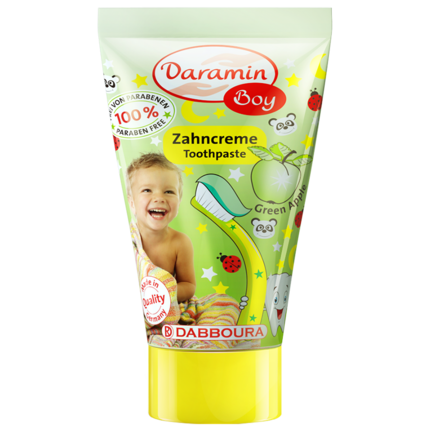 德国进口达罗咪儿童3-6-12岁防牙膏