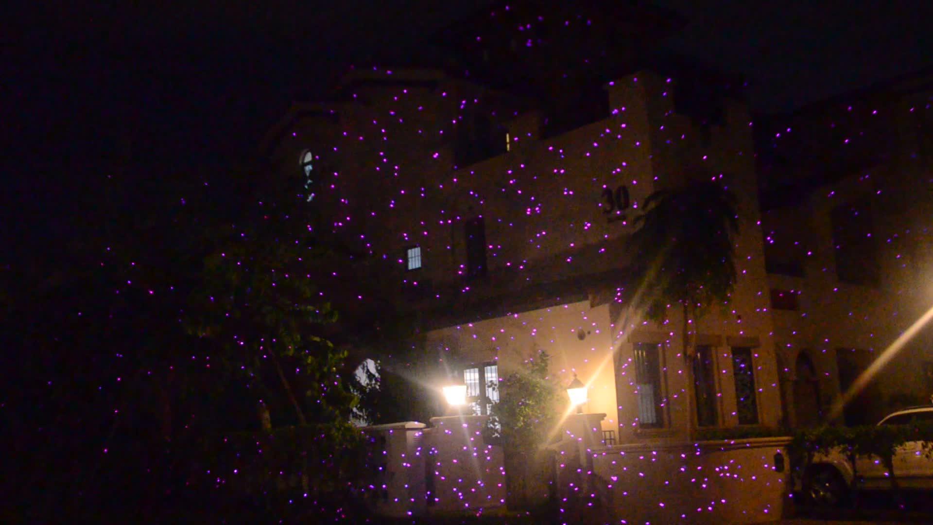 christmas light manufacturers named optlaser developed white laser lights