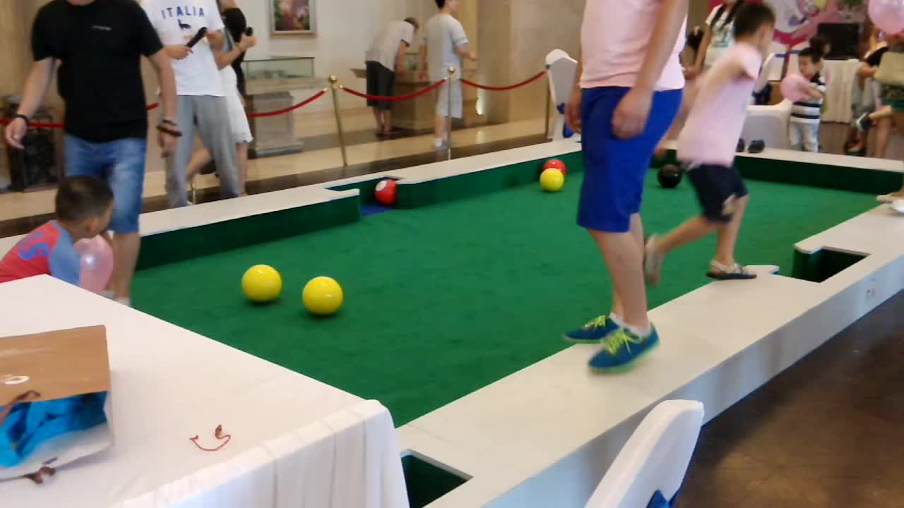 Hottest Item Cuzur Snook Ball Table For Family Occasions