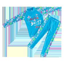 女童分体浮潜服防晒服儿童潜水服