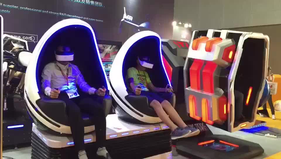 Attractive Virtual Reality 9D VR Cinema 360 Degree Rotation KINGKONG VR Chair With 9d Shooting Game In USA Warehouse