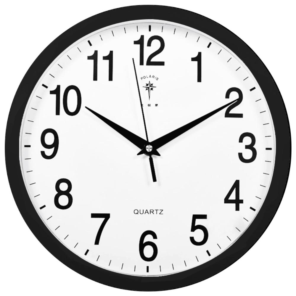 北极星挂钟客厅静音时钟卧室时尚钟表办公室简约北欧风石英钟正品