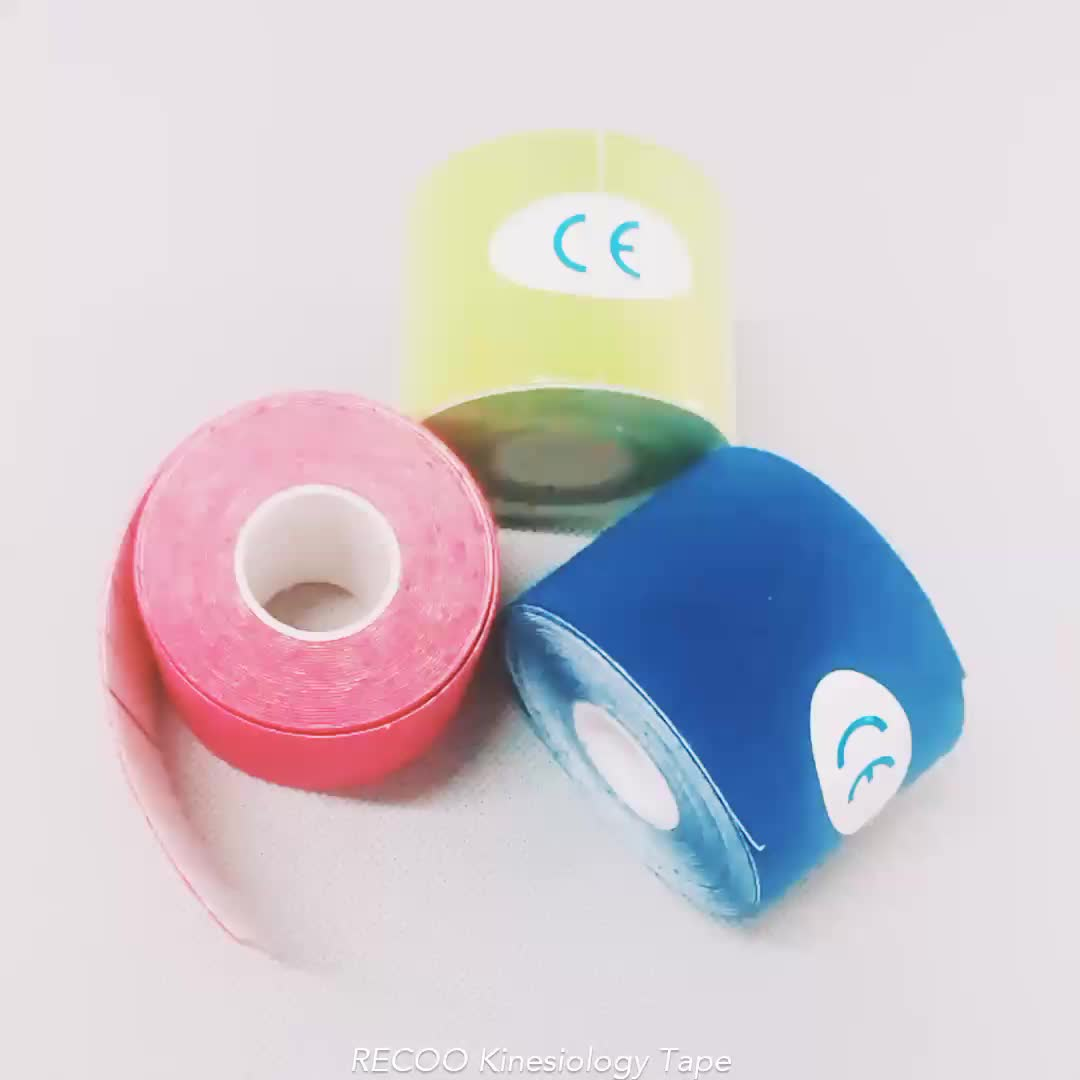 Manufactory cheap Kinesiology Tape Sports Tape for athletes