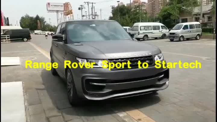 Sport ST body kits fit for RR Sport 14y~ up changing into STARTECH style