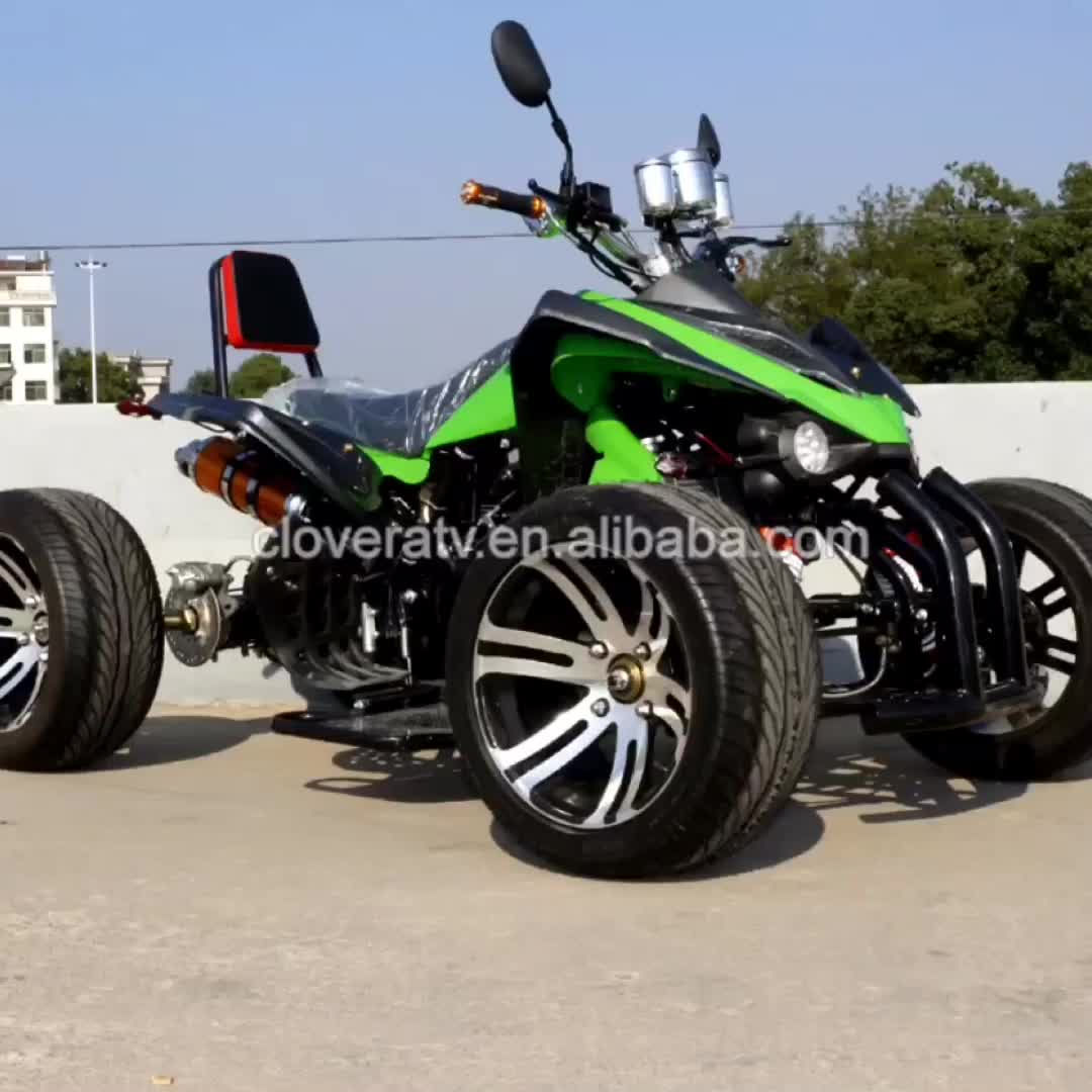 Eu Standard 4 Wheeler Kawasaki Quad Bike 350cc Racing Atv With ...