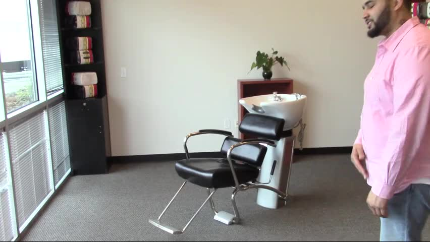 "Professional quality whole sale hot salon equipment ""AKITA"" Japanese style shampoo chair wash unit with sliding seat"