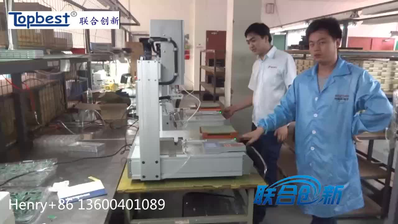 Intelligent pcb automatic soldering machine