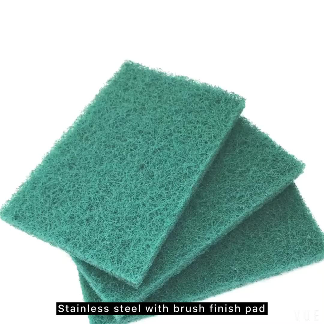 Cheap Price Wholesale Kitchen Cleaning Green Nylon Scrubbing Pad ...