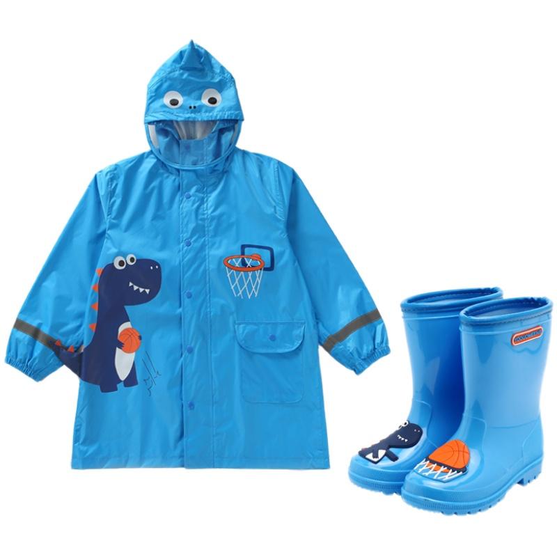 儿童雨衣防水服雨披斗篷式小童幼儿园男女童宝宝可爱卡通小孩学生