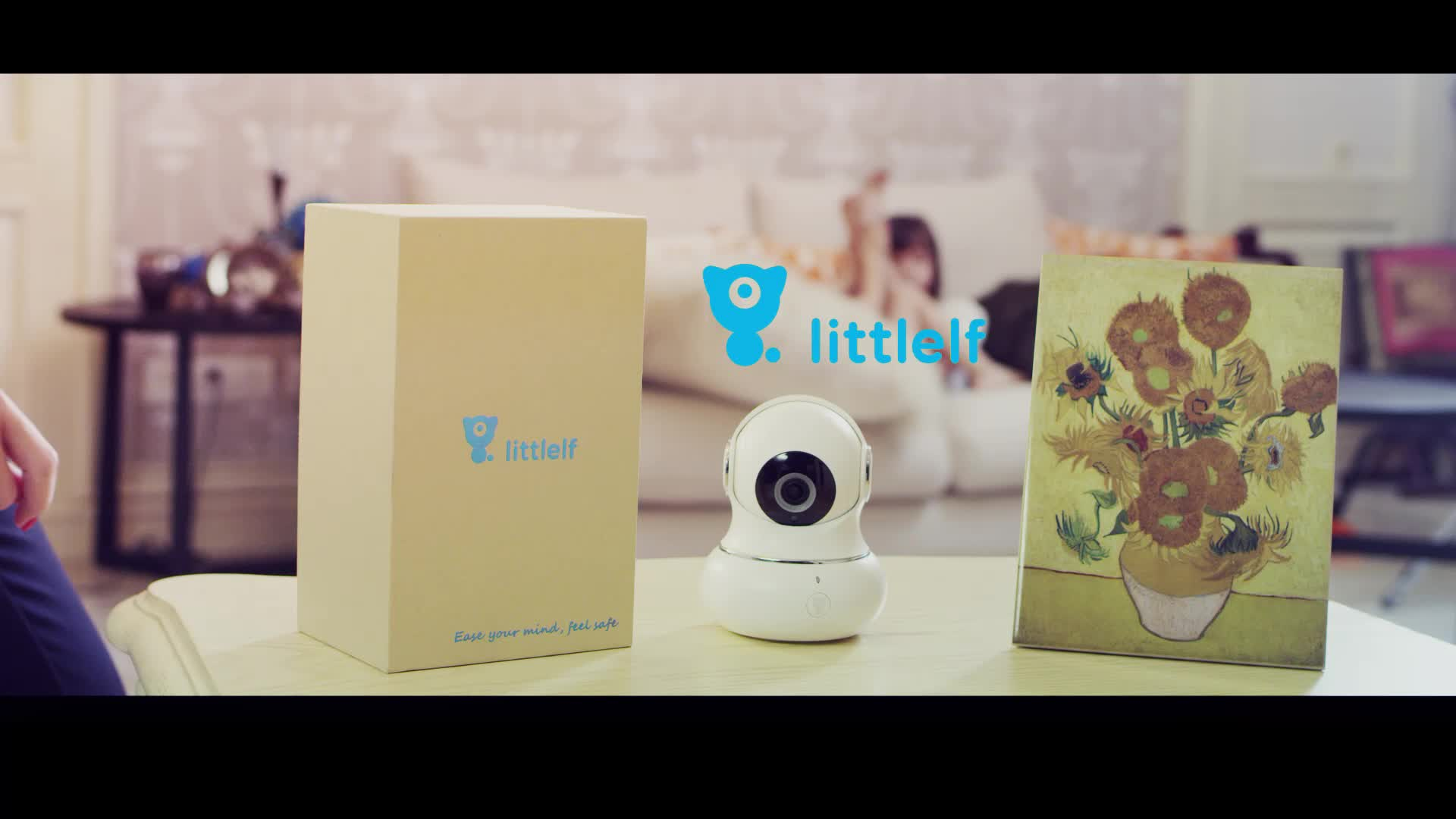 Littlelf 3D Panoramic Wireless Mini WiFi IP Home Security Camera