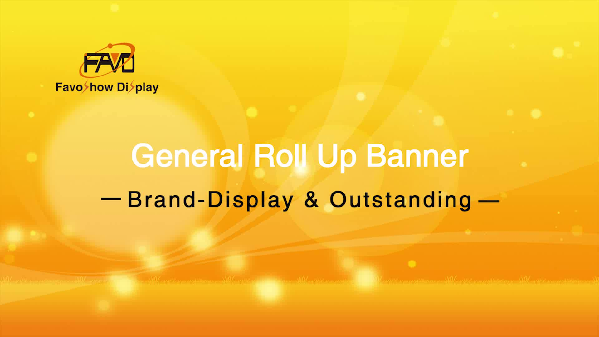 Marke Display Günstige Retractable Doppelseitige Werbung Pop-Up-Banner