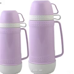 SURE UP plastic thermos glass refill vacuum flask for daily use