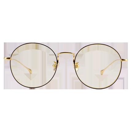 近视男超轻商务复古女士纯钛眼镜框