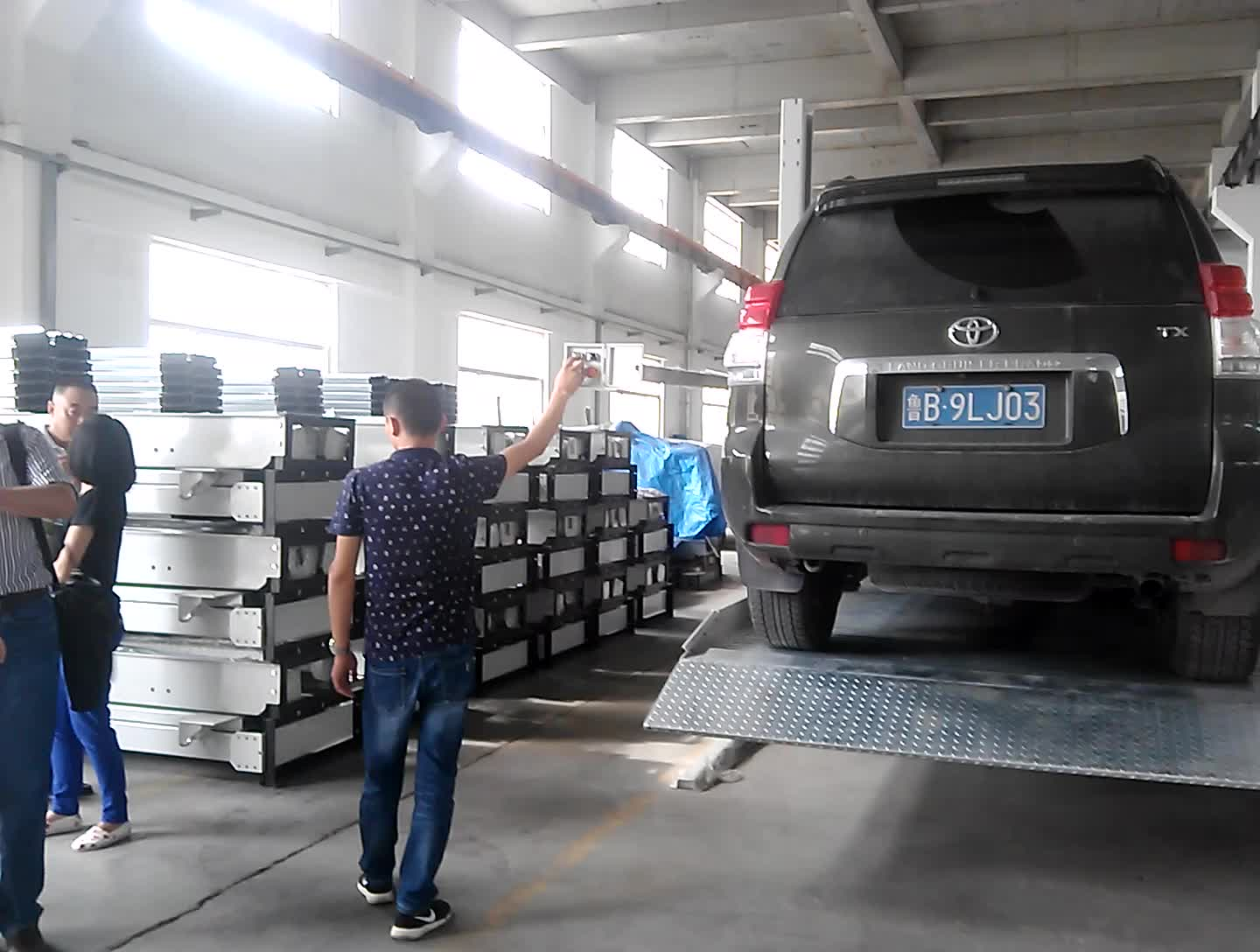 Used home garage hydraulic  Car Auto Parking Lift car storage vehicle parking lift system