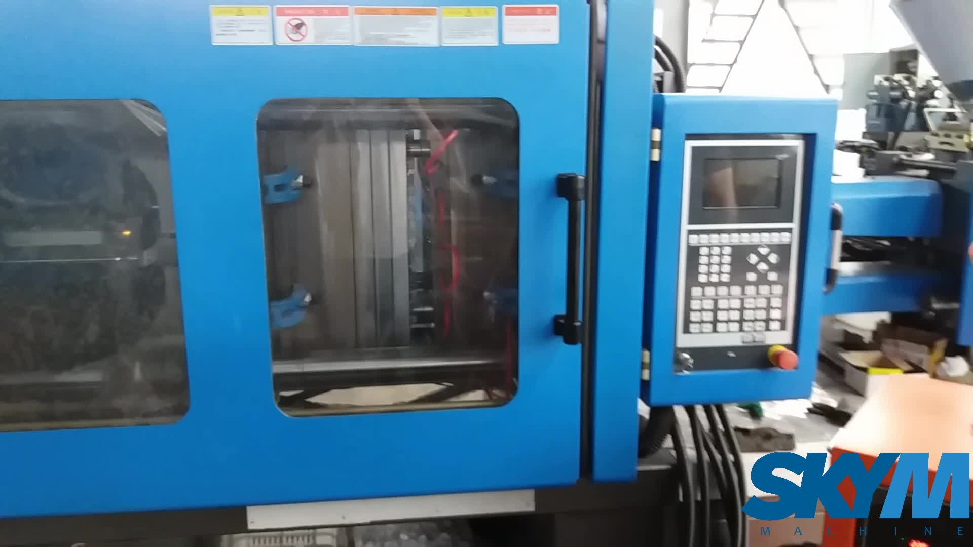 Best Quality Plastic Basket / Bucket Injection Moulding Machine For Sale