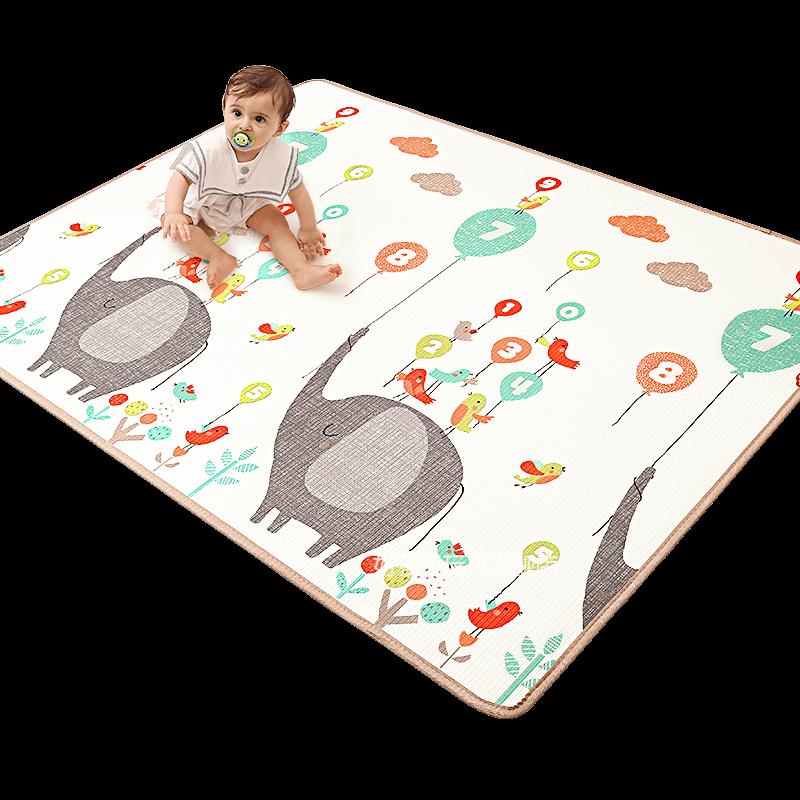 好孩子宝宝爬行垫加厚2CM儿童地垫客厅家用游戏垫子xpe婴儿爬爬垫