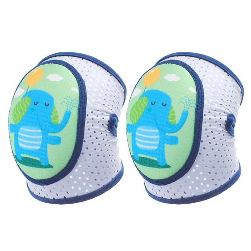 宝宝护膝防摔神器夏季薄款儿童幼儿学走路婴儿爬行膝盖保护套护垫
