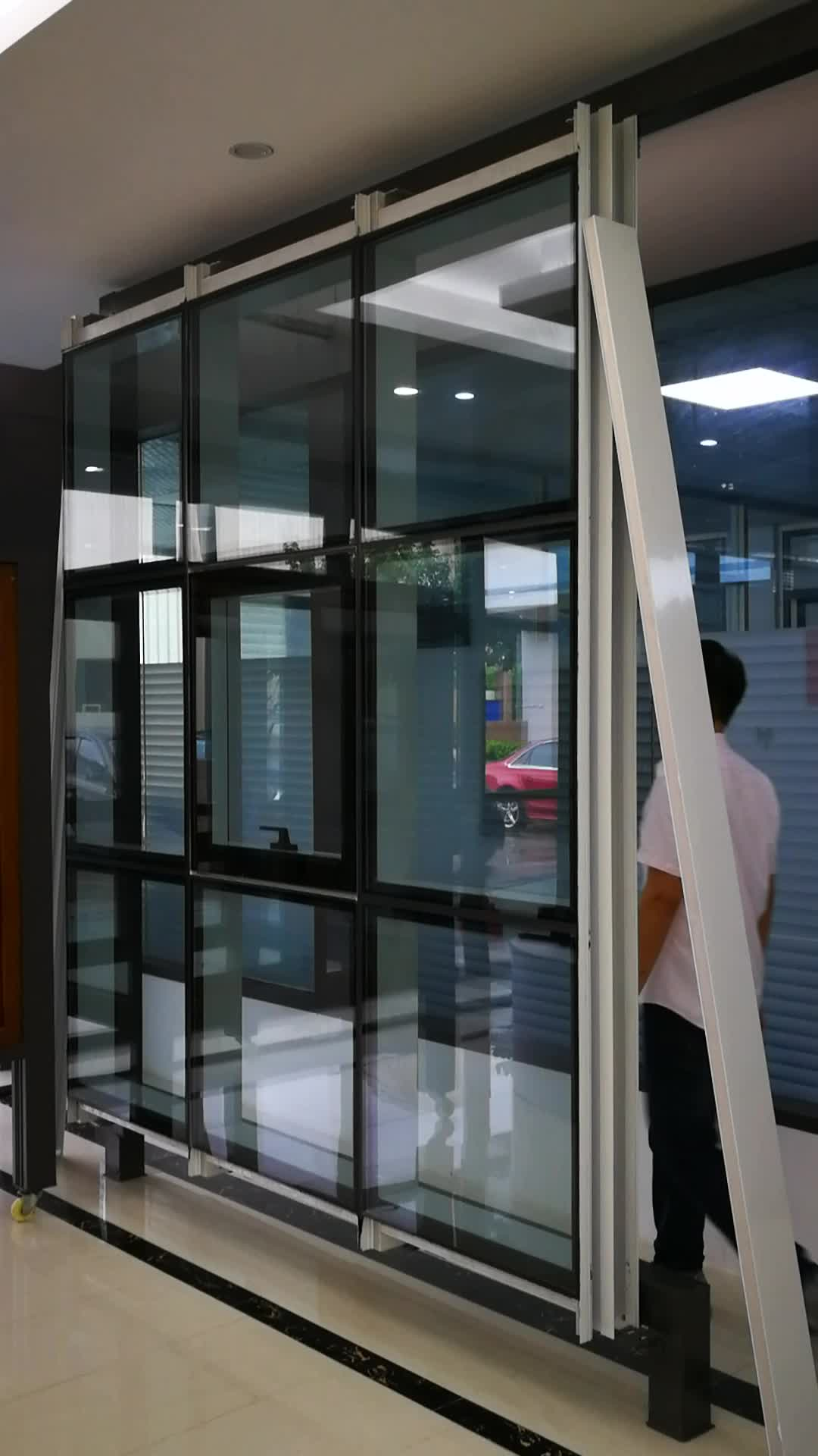 Aluminum alloy glass house manufacturers glass covered for House window brands