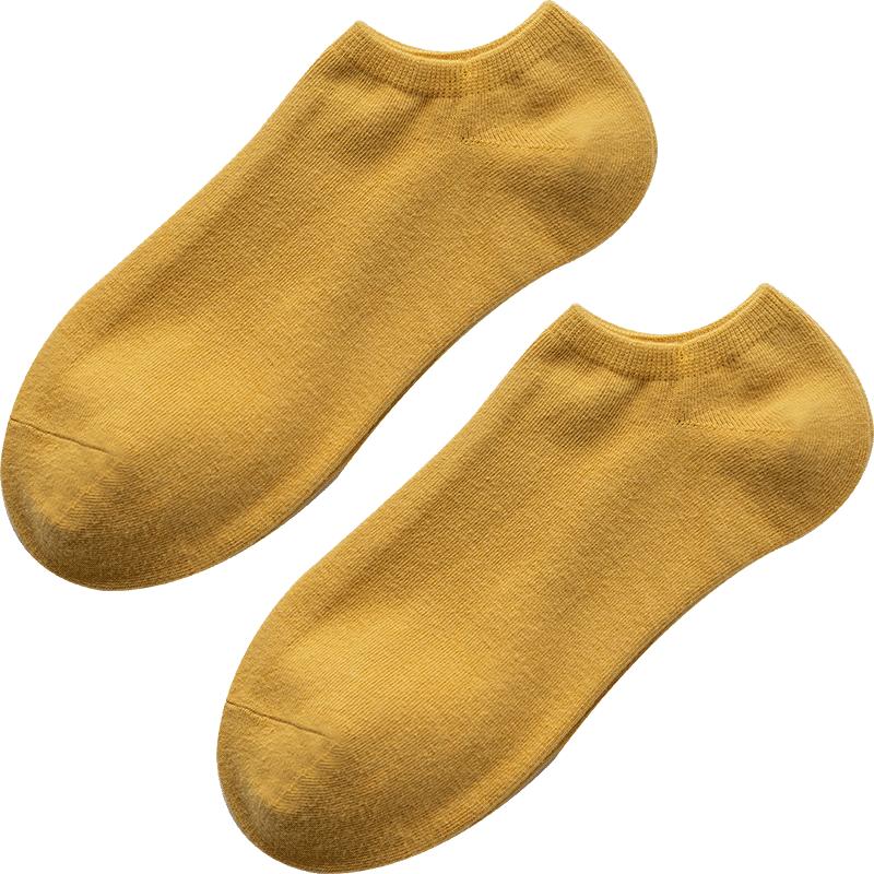 袜子女短袜纯棉浅口夏季可爱棉袜女士全棉船袜春秋薄款日系女袜潮