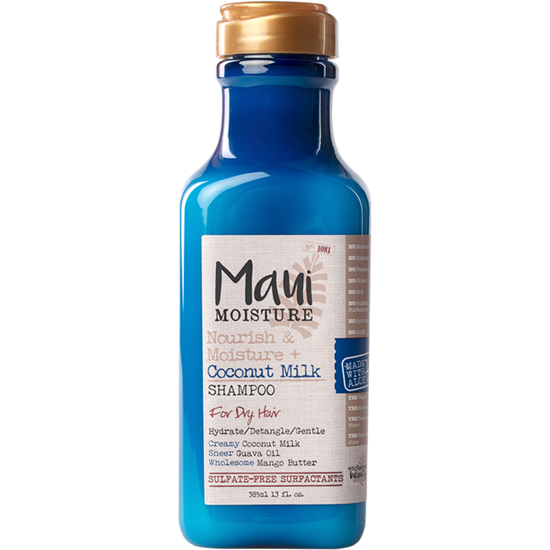 美国Maui椰奶保湿滋养无硅油洗发水