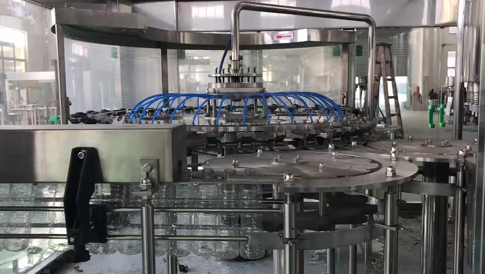 Full Complete Water Production Line Include Water Filling Machine/ Packing Line/Water Treatment
