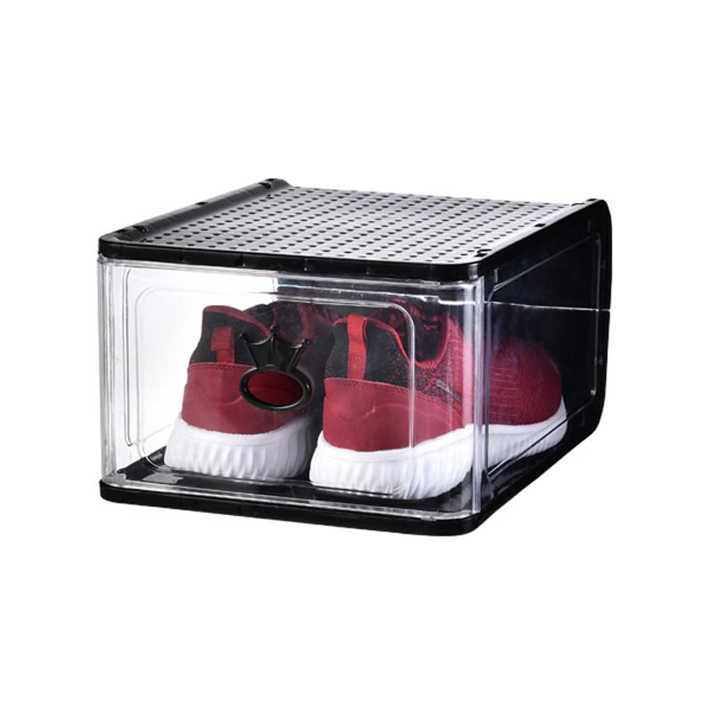 塑料透明抽屉式整理箱宿舍神器鞋架好用吗