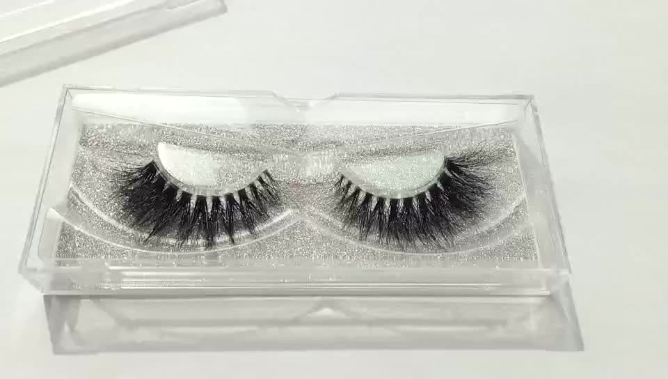 Top Quality Siberian Mink Fur Eyelashes, Hand Make Mink EyeLashes, Custom Eyelash Packaging