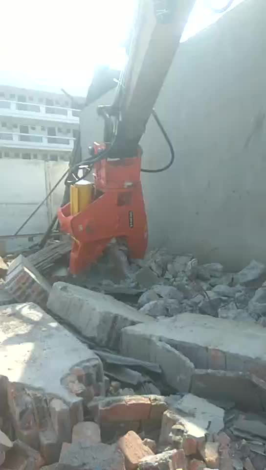 BEIYI HC350  demolition pulveirzer equipment hydraulic pulverizer and excavator crusher for sale