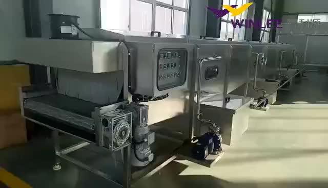 Tunnel stoom verwarming bier fabriek pasteur apparatuur voor koop
