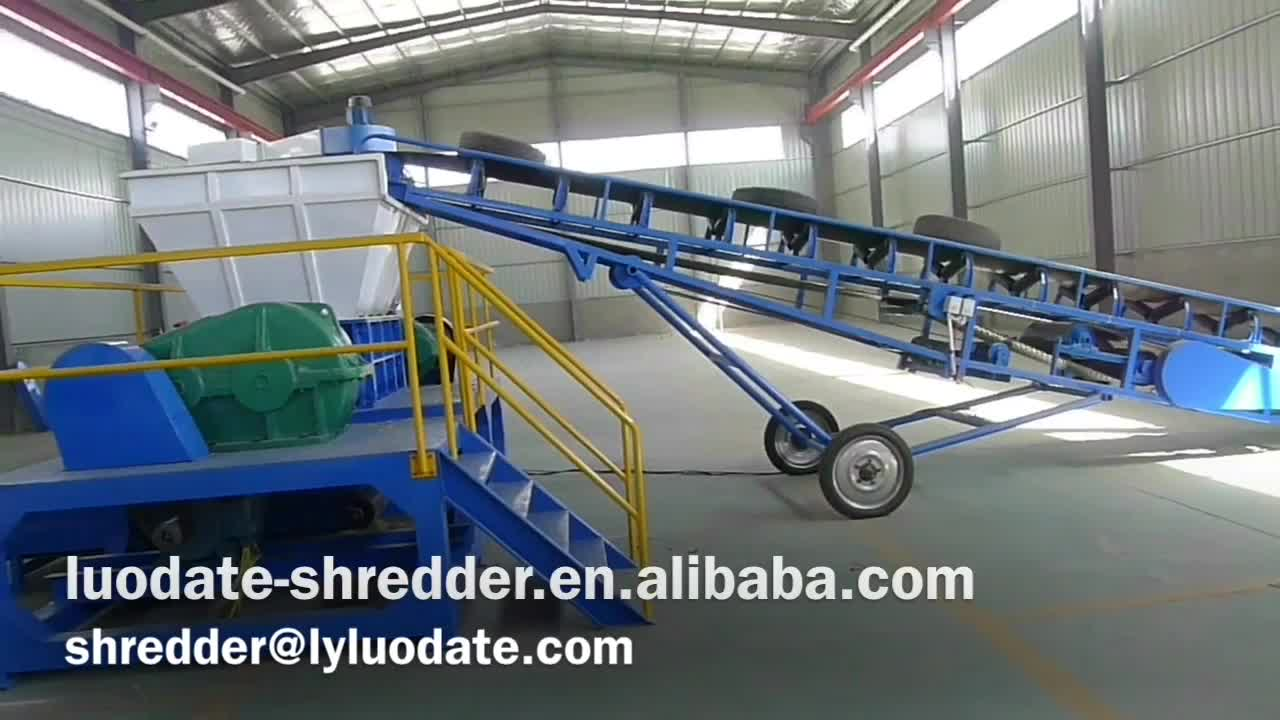 Steel Wire Puller Process Tyre Shredder - Buy Tyre Shredder,Steel ...