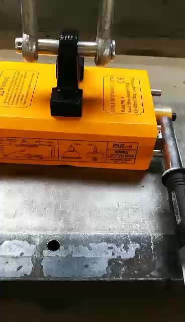 Magnetic hand lifter with stainless screw