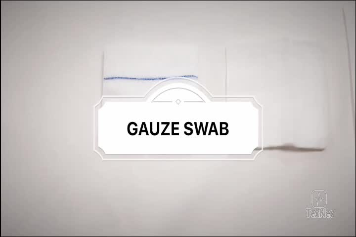 China Hot Sale Gamma Sterile Gauze Swab with CE&ISO Approved