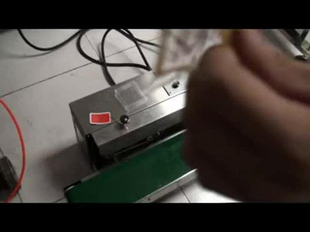 Fabrik Preis SF-150 Horizontale Kontinuierliche Plastiktüte Abdichtung Maschine Film Sealer