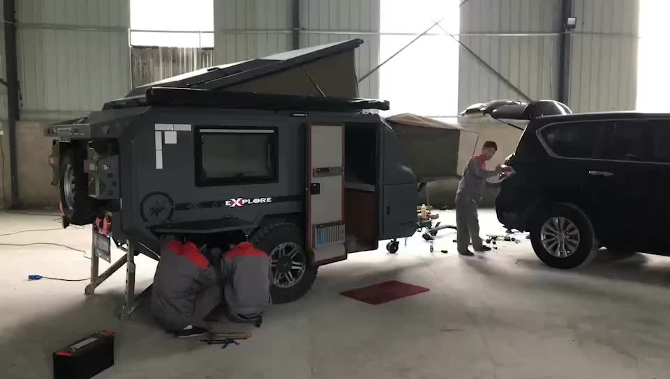 Factory Customized New Design Off Road Camper Touring Trailer For Sale