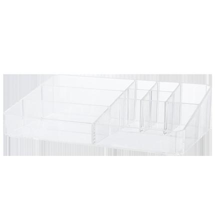 收纳盒桌面口红台分格整理置物架