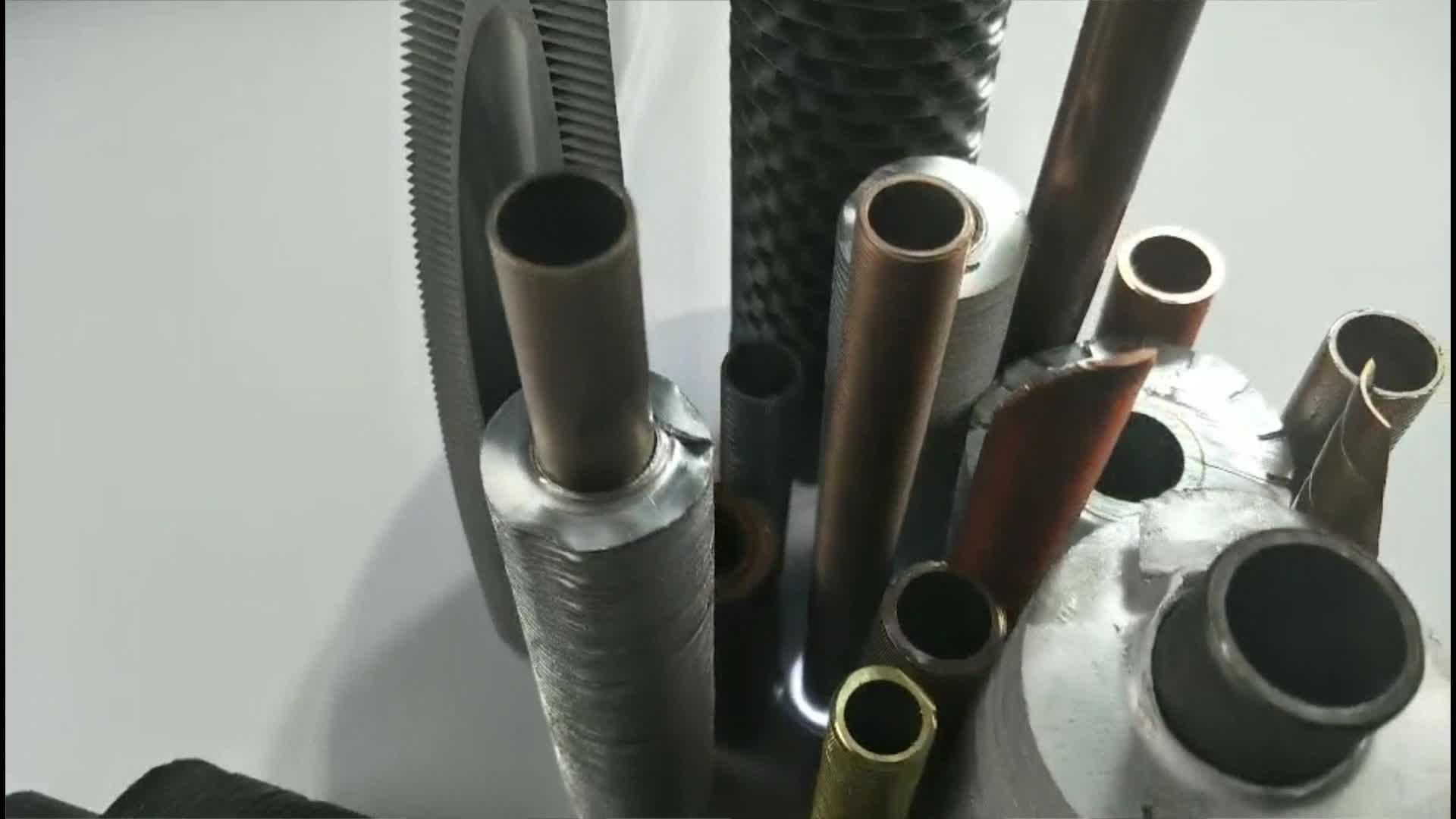 หม้อไอน้ำประหยัดพลังงานส่วนประกอบ H สแควร์ Fin หลอด ASME มาตรฐานสำหรับความร้อน transfer ระบบ