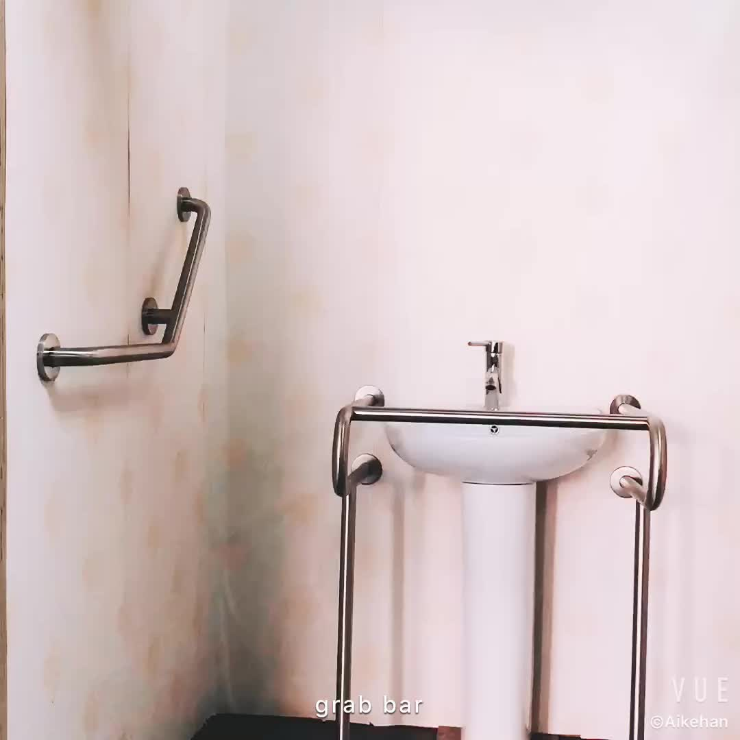 Curved Shower Rod Extendable Shower Curtain Rail Shower