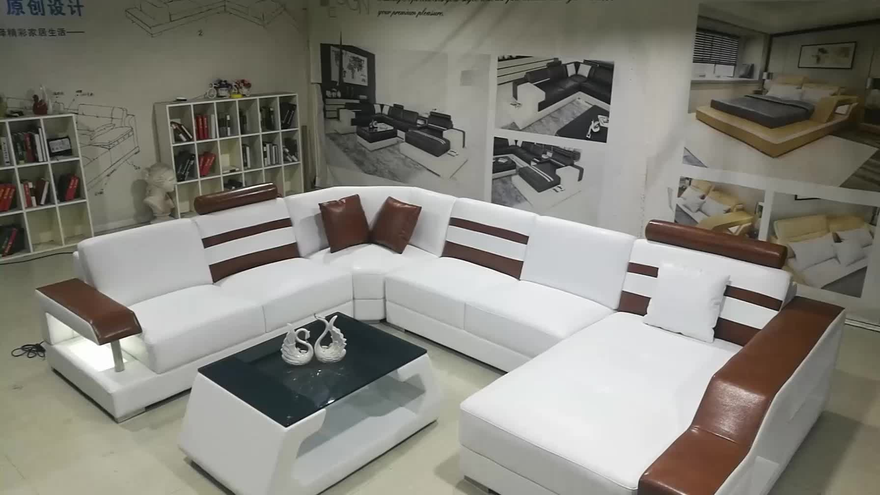 Sumeng Modern Living Room Furniture Sets Alibaba Latest Leather Sofa ...