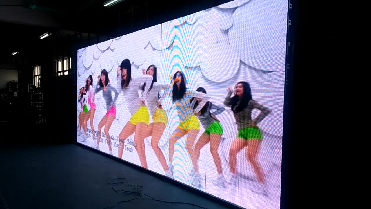 outdoor advertising led display p5 installation screen video wall rental led screen