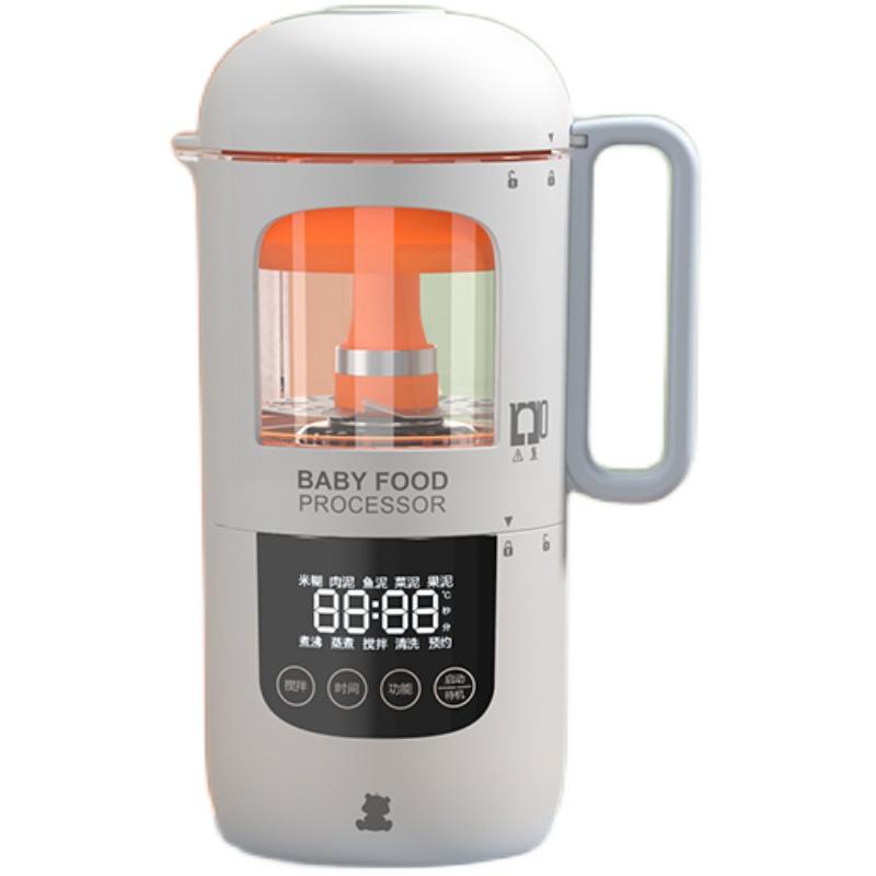 小白熊宝宝辅食全自动蒸煮辅食机使用评测分享